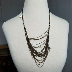 Madewell Long Drape necklace adjustable